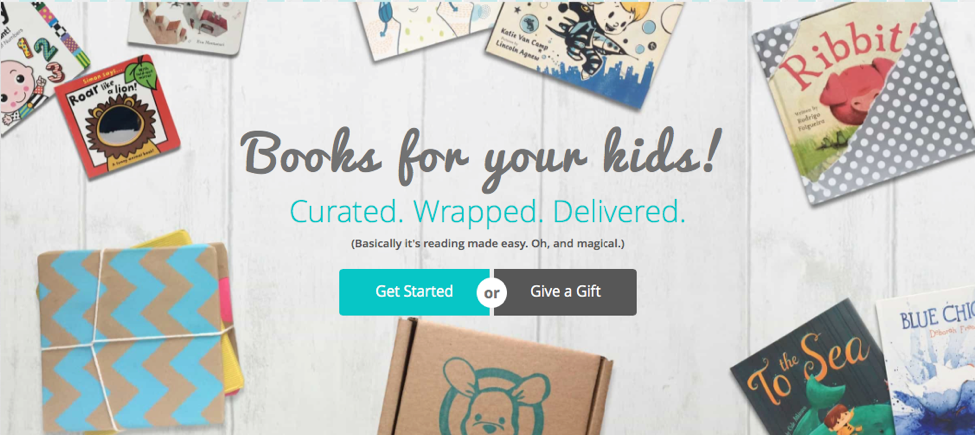 Bookroo Children's Book Subscription Box