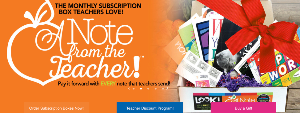 Teacher Peach Subscription Box