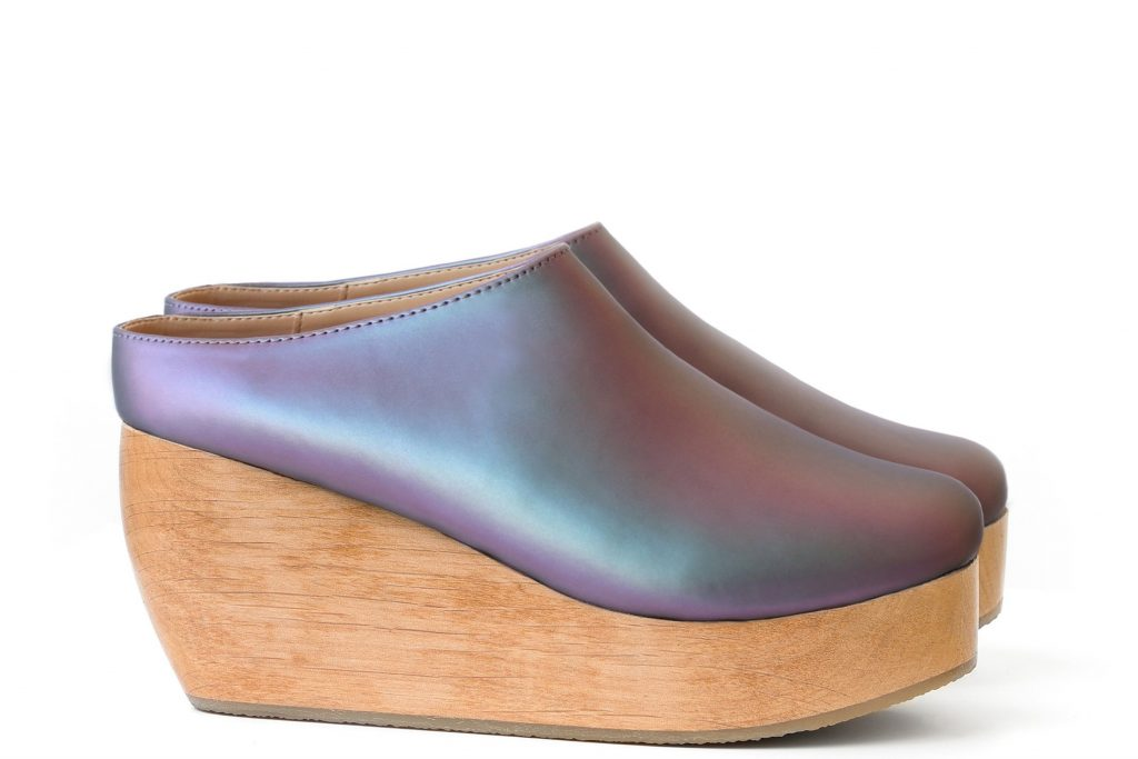 Iridescent Clogs - Sydney Brown Shoes Review