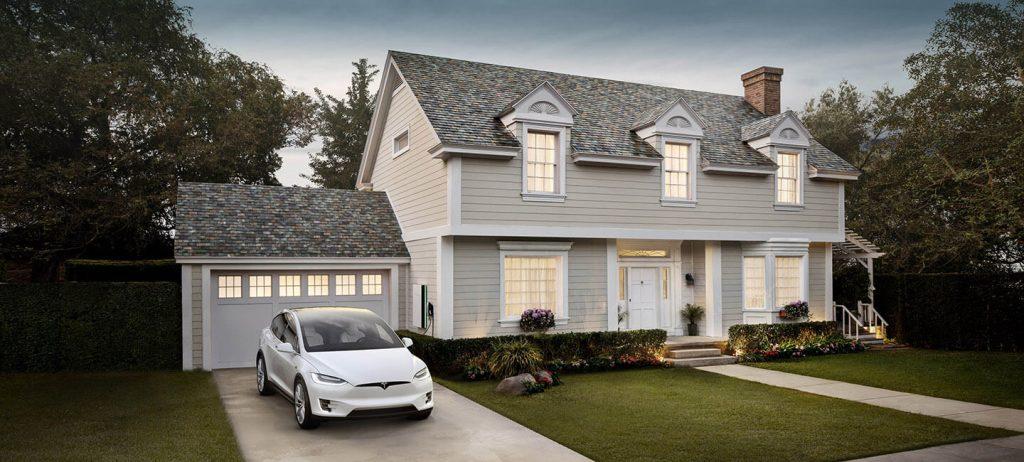 Slate Solar Roof Tiles Tesla