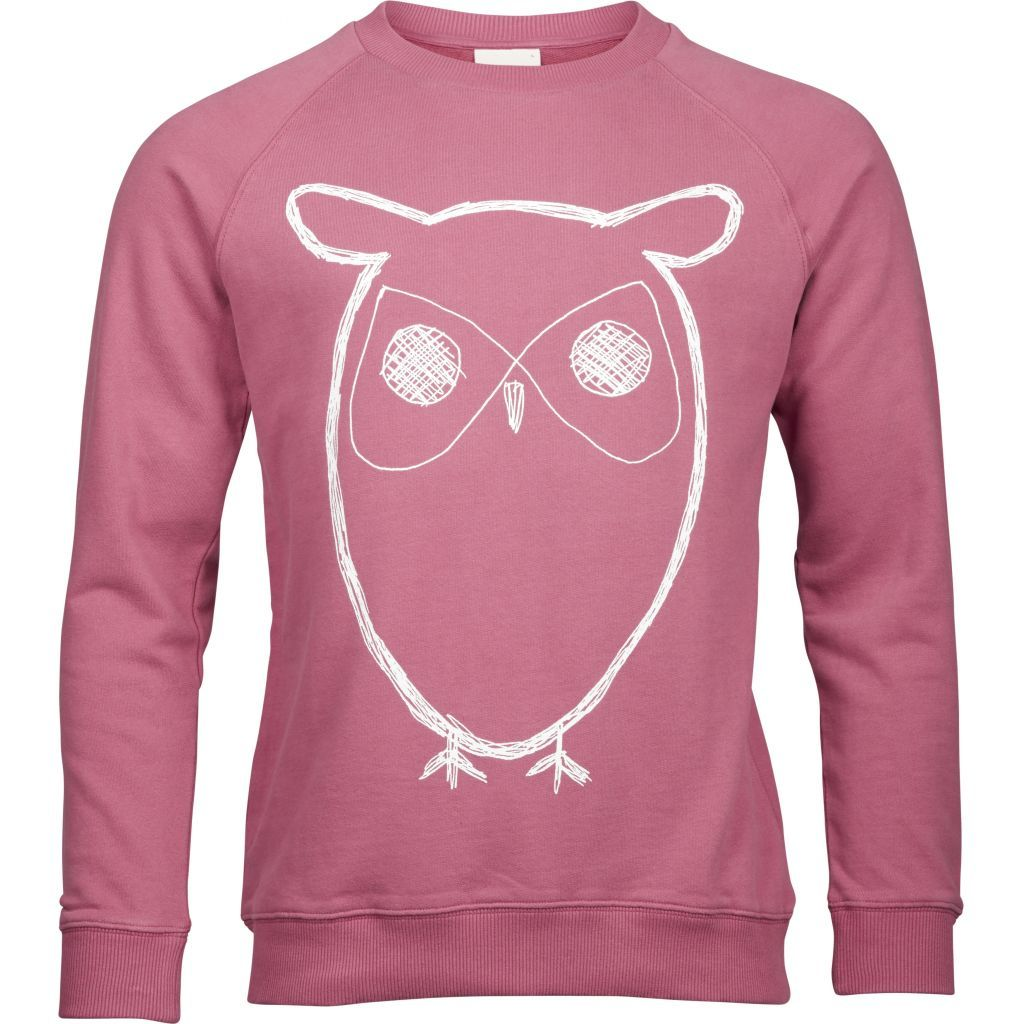 Knowledge Cotton Apparel Owl Sweatshirt