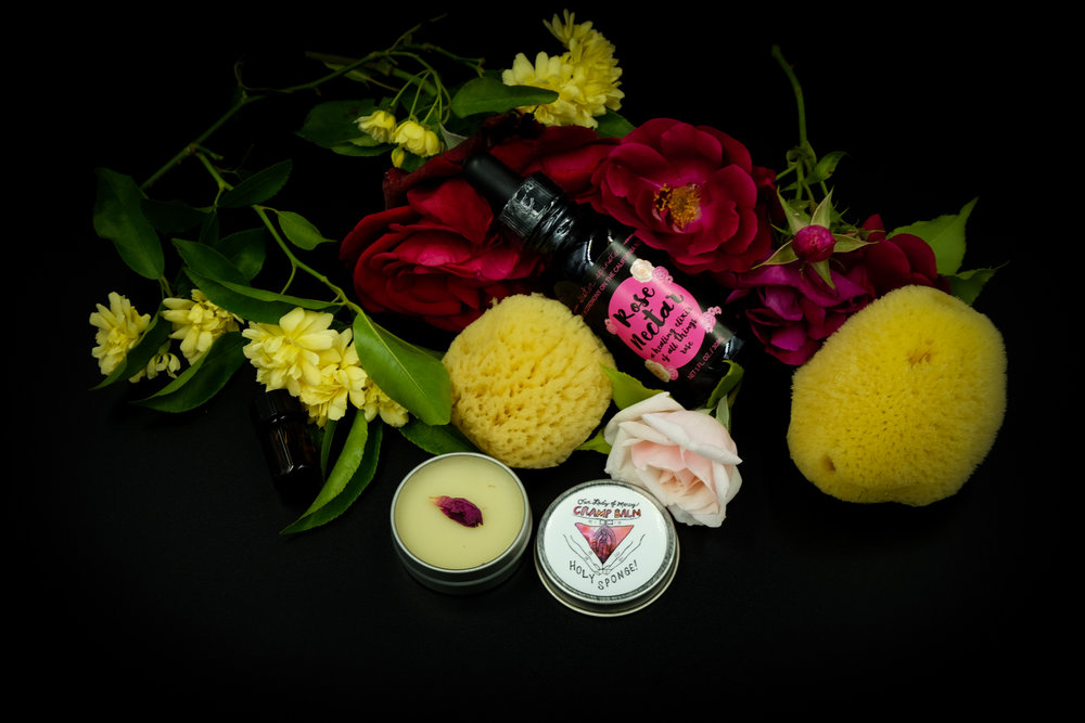 The Ritual Moon Kit with Rose Nectar