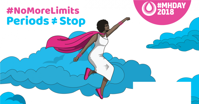 Menstrual Hygiene Day Superwoman