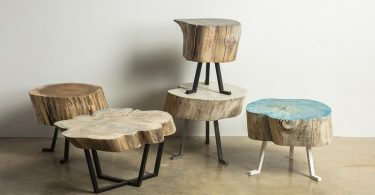 Woodworking at Alasaw Sputnik Tables