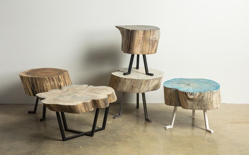 Woodworking at Alasaw Sputnik Tables
