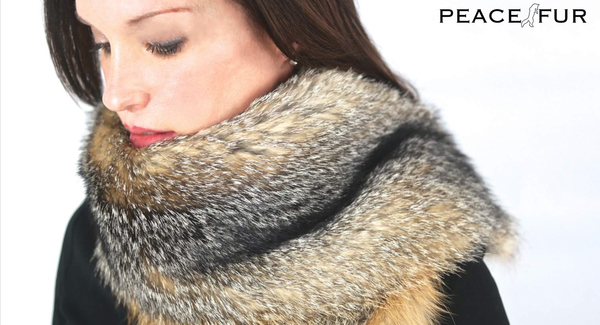 Peace Fur Review Fox Scarf